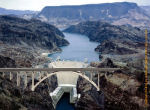 Hoover dam and Canyon bridge