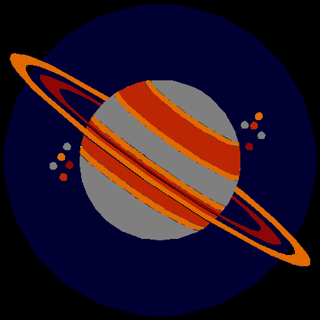 image of solar system, for 'Profession' by Isaac Asimov' document