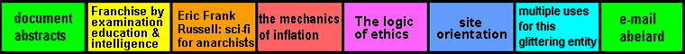 navigation bar ( eight equal segments) on  'Profession by Isaac Asimov' page