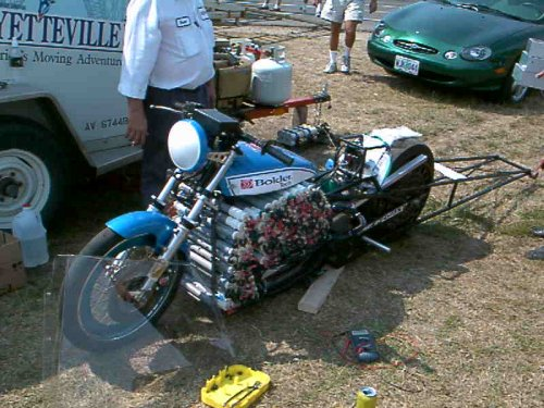 The Killacycle, the world's fastest electric-powered drag bike. Image credit: killacycle.com