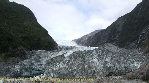 Franz Josef glacier, New Zealand, 2008