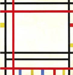 Boogie Woogie New York by Piet Mondrian, 1941