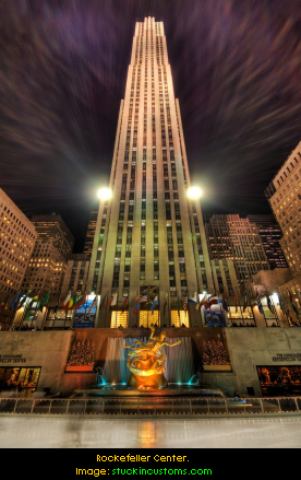 Rockefeller Center. Image: stuckincustoms.com