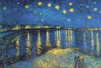 Starry Night over the Rh�ne by Vincent van Gogh, 1888. Image: Time Life Pictures/Getty Images