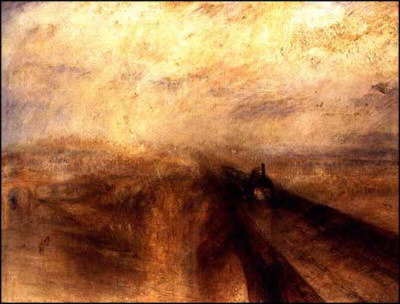 Rain, Steam and Speed - The Great Western Railway (1844) by J.M.W. Turner