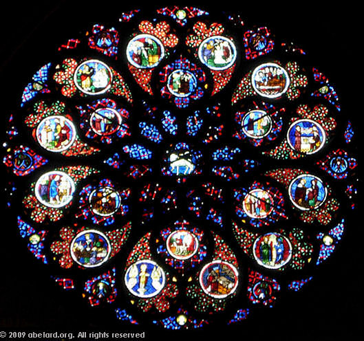 chartres cathedral west rose window the west rose window at lyon