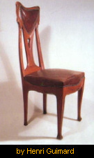Chair by Henri Guimard