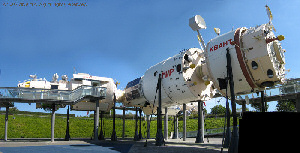 Mir space station at the Cit� de l'Espace, Toulouse.