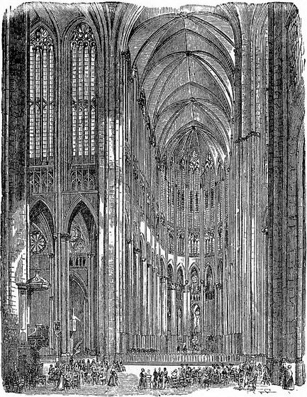 Cathedral Giants Amiens Cathedral And Beauvais Cathedral