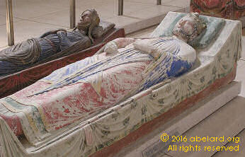 Tombs of Richard I and Isabella, wife of John