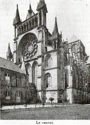 chevet, Laon cathedral
