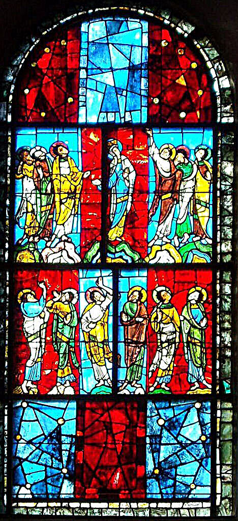 Ascension window. Image credit: Benchaum