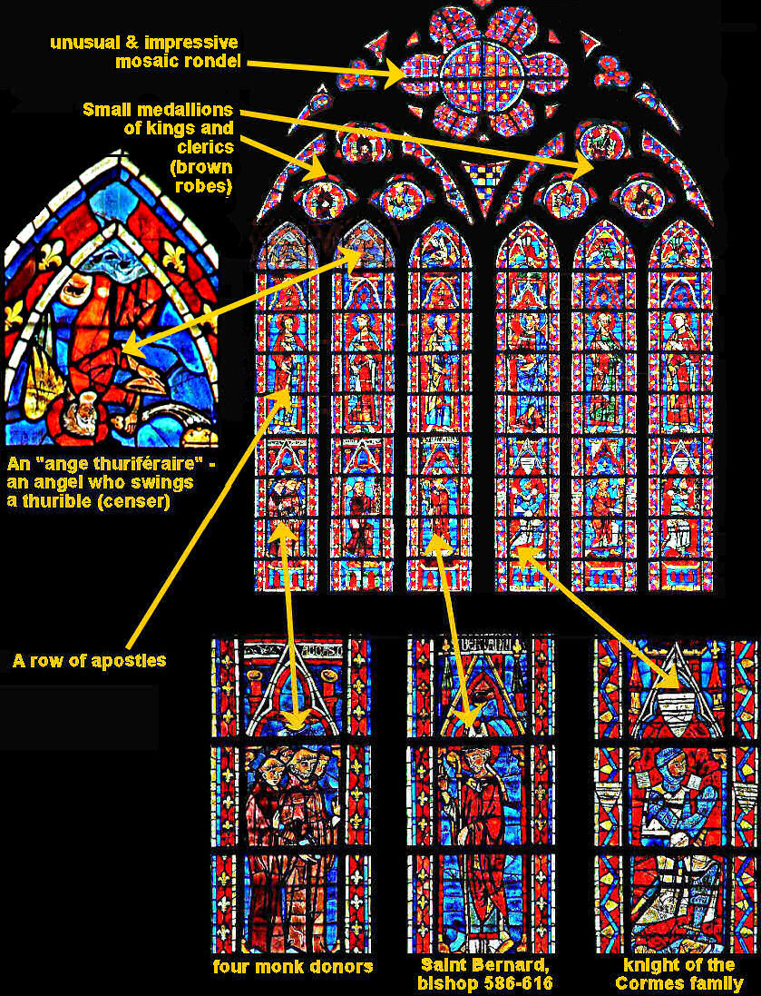 Labelled cupper clerestory window