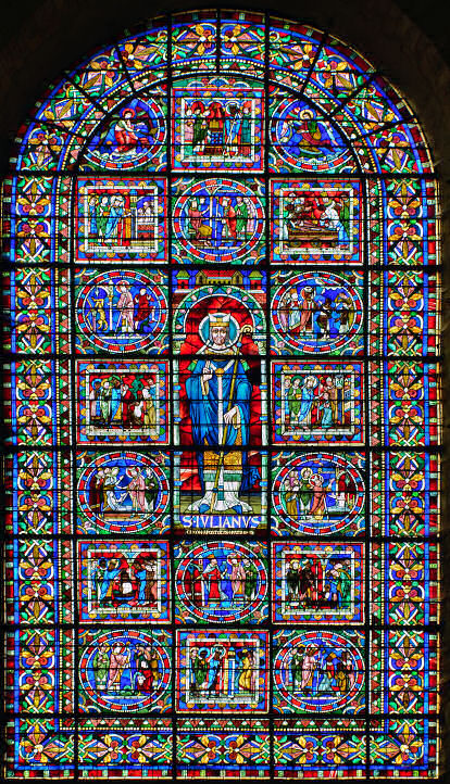 Life of Saint Julien, to whom Le Mans cathedral is dedicated