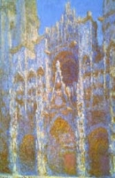 Rouen Cathedral, façade - image credit: Juliana Cheney Edwards Collection, courtesy Museum of Fine Arts, Boston.