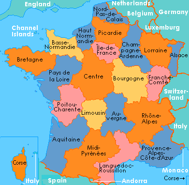 The Regions of Republican France