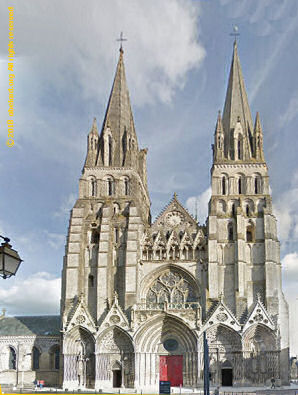 West facade, Bayeux cathedral