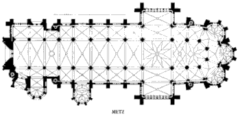 metz cathedral plan