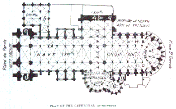 soissons cathedral plan