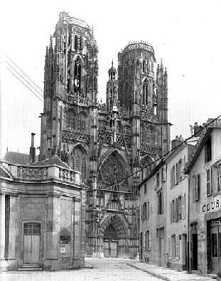West facade, Cathedrale Saint-Etienne de Toul
