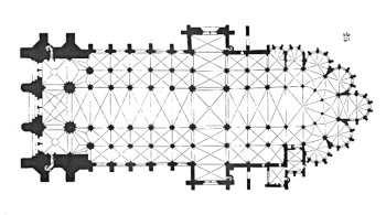 troyes cathedral plan