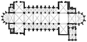 verdun cathedral plan