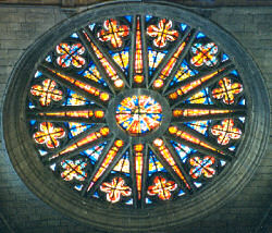 Architectural & Garden Steady Stained Scenic Window Fancy Colours