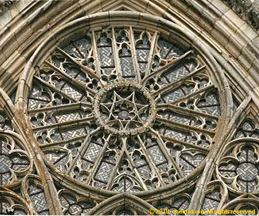 Rouen South Rose Window