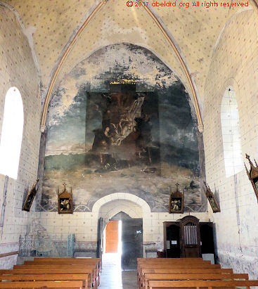 Fortified churches mostly in les landes france zone at for Abelard decoration