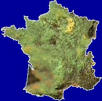 map of France (c) abelard.org 2004
