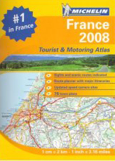 Michelin Atlas of France 2008