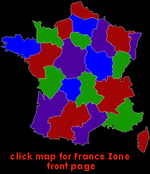 click map for France front page