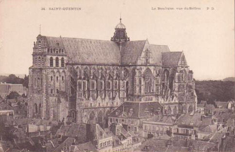saint quentin cathedral basilica subsidiary page to germans in france. Black Bedroom Furniture Sets. Home Design Ideas