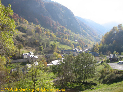 Looking down the Cauterets valley