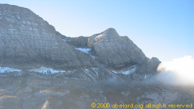 Near the Breche  de Roland, Gavarnie - the remaining glaciers