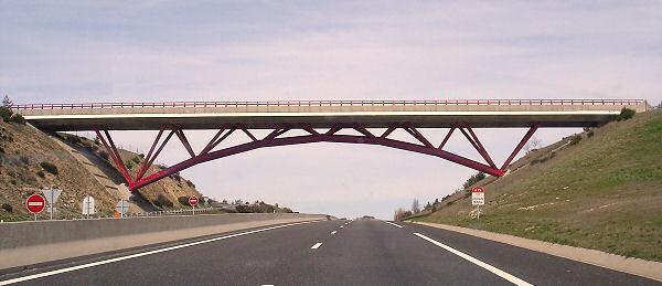 Antrenas Bridge On The A75