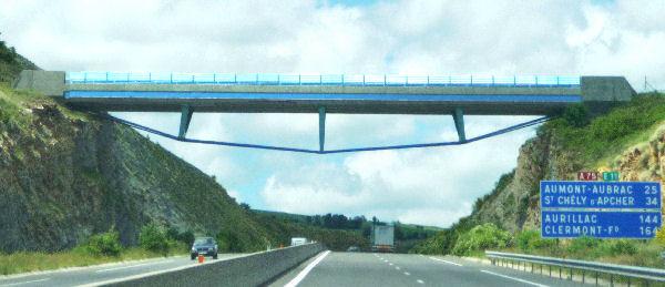 Truc De La Fare Bridge On The A75