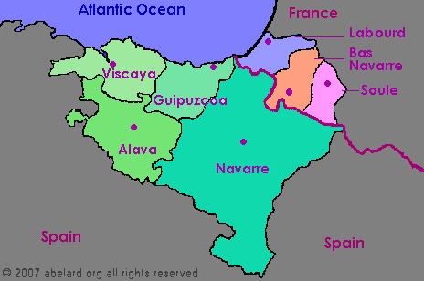 Pyrenees Atlantiques France zone at abelardorg