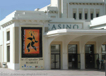 Biarritz casino, which is also used as a festival and exhibition space.
