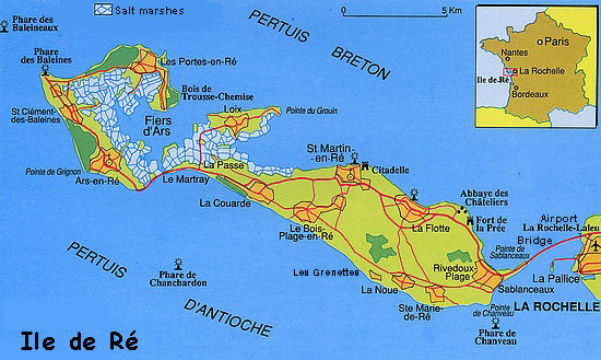 France 39 S Western Isles Ile De R France Zone At
