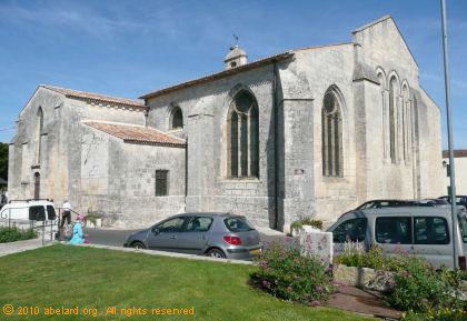 Romanesque church of Saint-Georges d�Oleron