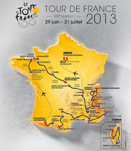 the tour de france 2013 the centenary year france zone at. Black Bedroom Furniture Sets. Home Design Ideas