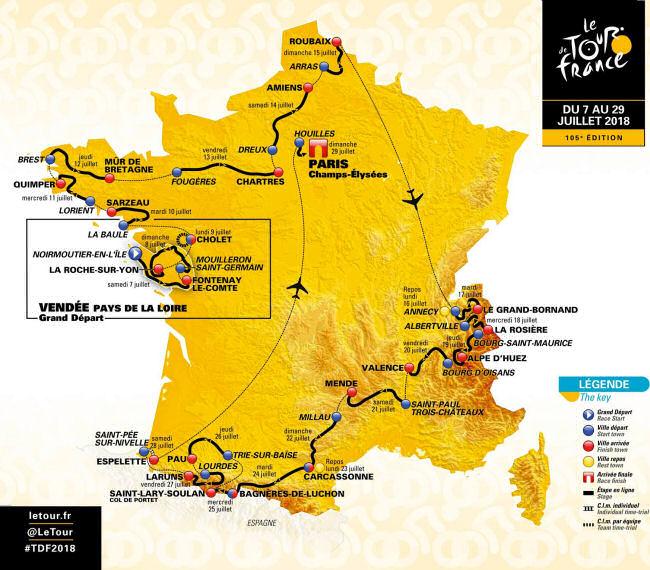 Tour De France  Route Stage