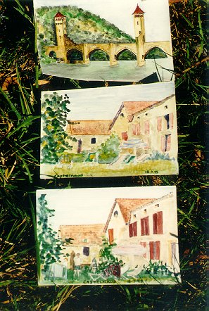 Dordogne Postcards 2 by Xavier