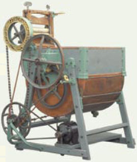 A 1911 washing machine cost 553 workhours. Today, a washing machine costs 26 workhours.