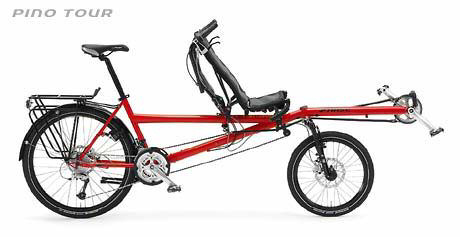 The Pino Tour tandem bicycle. Image: hase-bikes.com