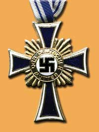 Gold cross of honour of the German mother
