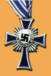 Silver cross of honour of the German mother