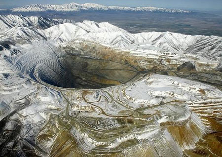 Bingham Canyon Mine, Utah. Source: Tim Jarrett