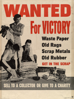 Encouraging recycling, WW2-style. Source: treehugger.com